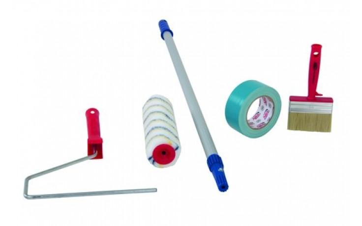 Beschichtungsset - Walzen,Bügel, Teleskopstäbe & Klebeband