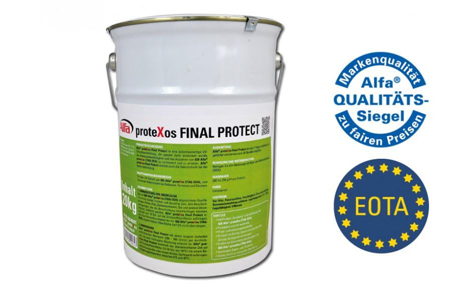 826 Alfa proteXos FINAL PROTECT