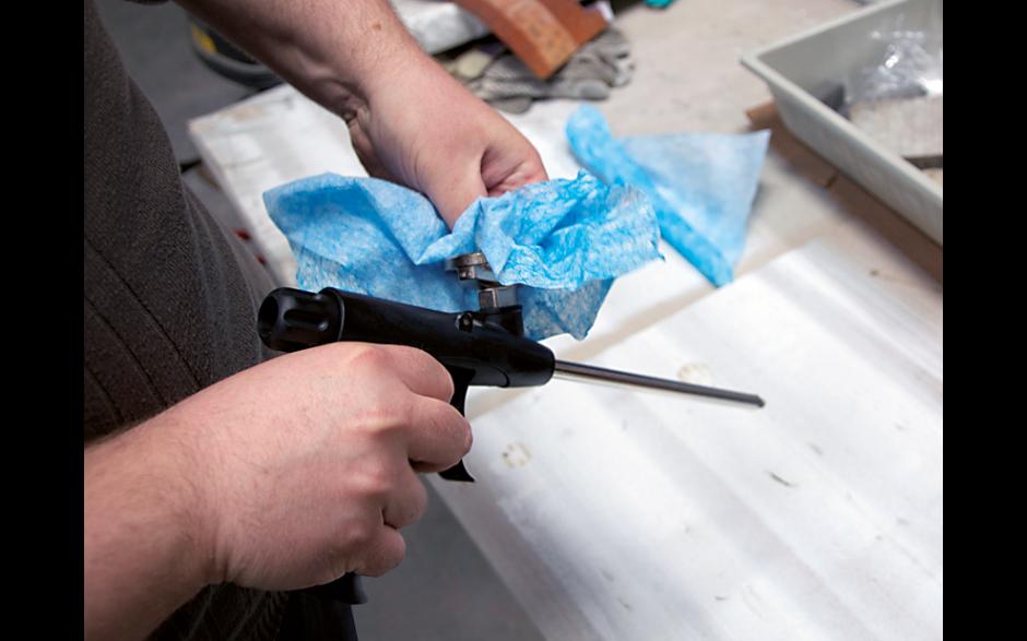 Clewo Wipes Duo+ Feuchtreinigungstücher ideal zum Reinigen von Schaumpistolen